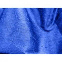 Royal blue D012 Silk Dupioni Fabric