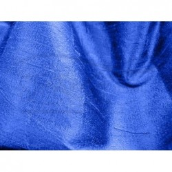 Royal blue D012 Silk Dupioni Fabric