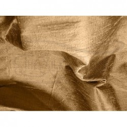 Brown D065 Silk Dupioni Fabric