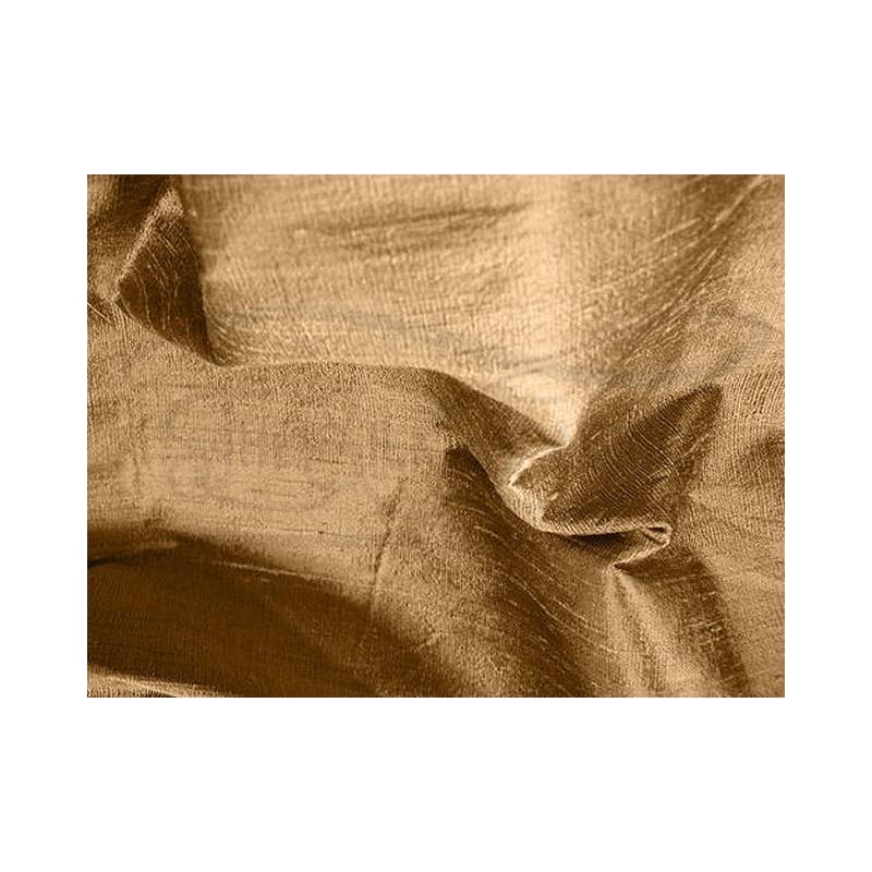 Brown D065 Silk Dupioni Fabric