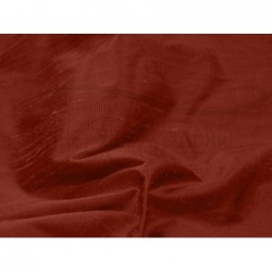 Chestnut D067 Silk Dupioni Fabric