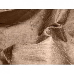 Coffee D069 Silk Dupioni Fabric