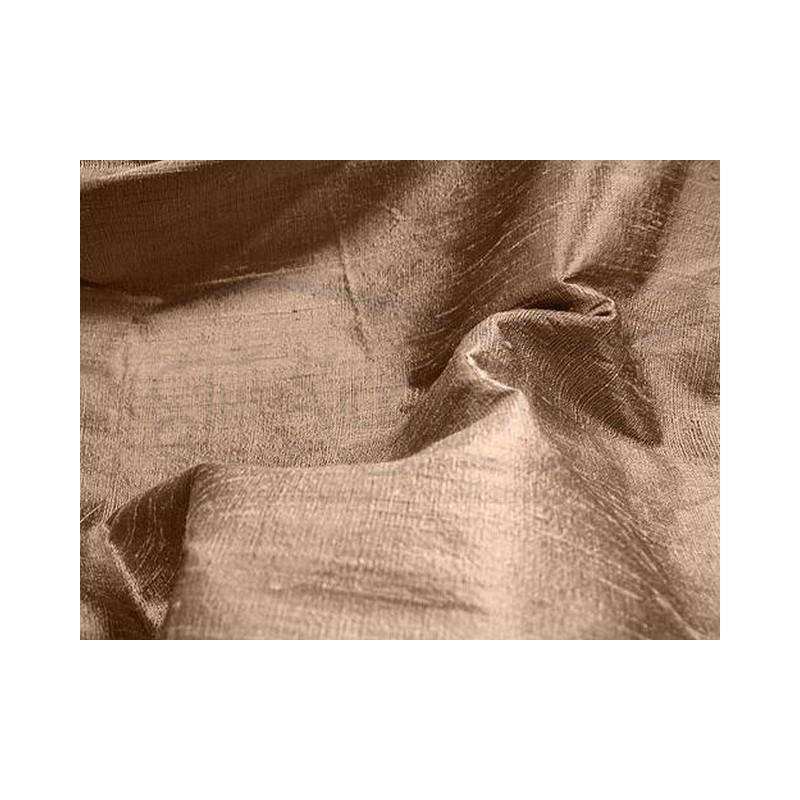 Coffee D069 Silk Dupioni Fabric