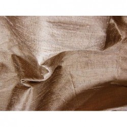Toast Brown D082 Silk Dupioni Fabric
