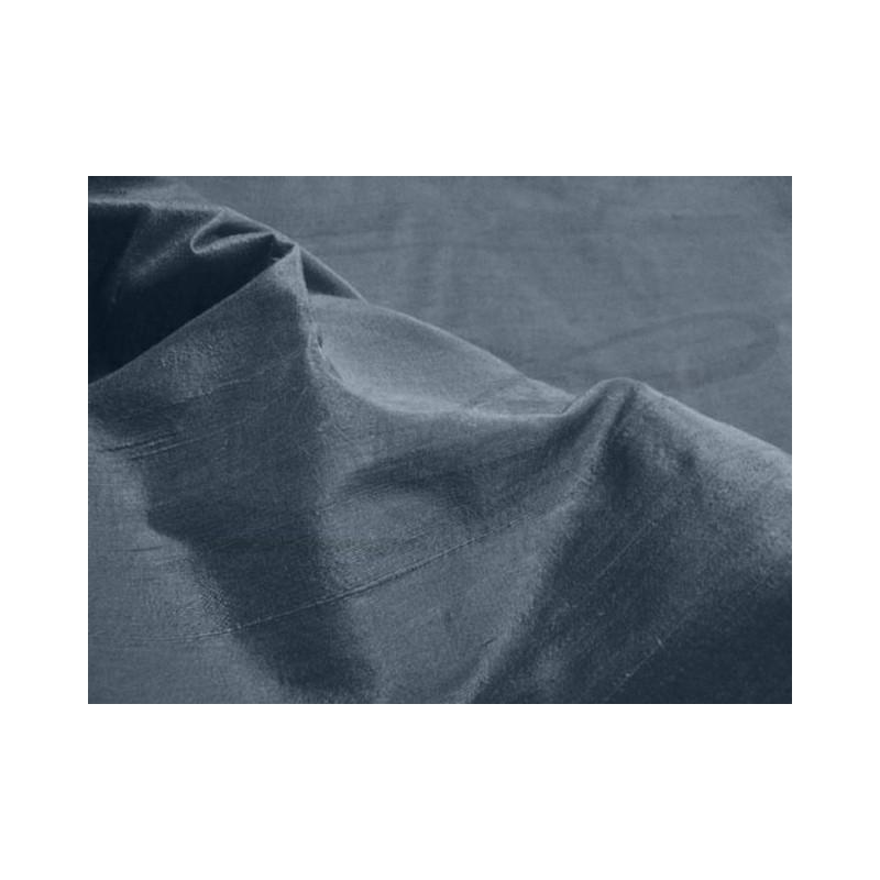 Charcoal D146 Silk Dupioni Fabric