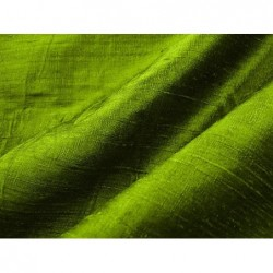 Apple green D166 Silk Dupioni Fabric