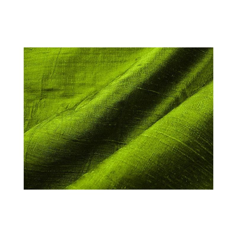 Apple green D166 Silk Dupioni Fabric