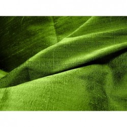 Avocado D168 Silk Dupioni Fabric