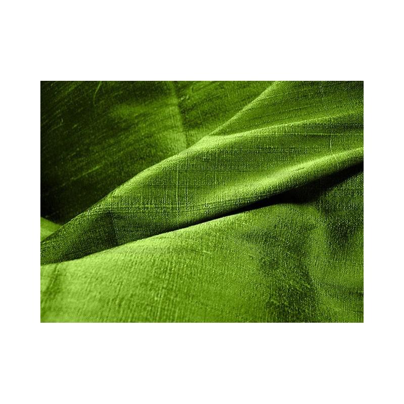 Avocado D168 Silk Dupioni Fabric
