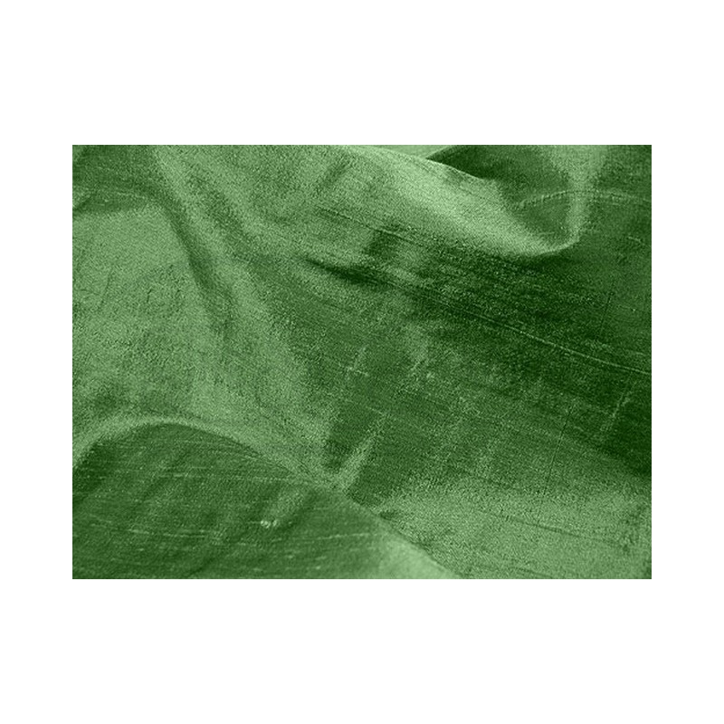 Fern green D173 Silk Dupioni Fabric