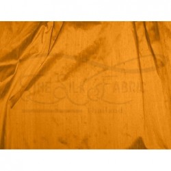 Carrot orange D248 Silk Dupioni Fabric