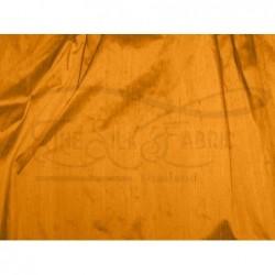 Carrot orange D248 Silk Dupioni Fabric