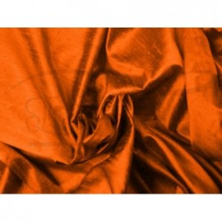Persimmon D252 Silk Dupioni Fabric