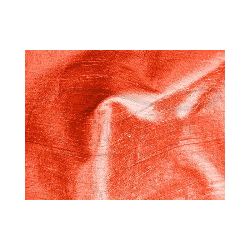 Portland orange D253 Silk Dupioni Fabric