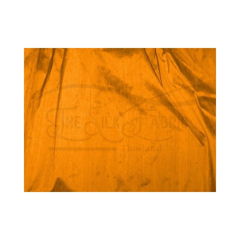 Tangerine D254 Silk Dupioni Fabric