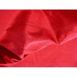 Milano Red D334 Silk Dupioni Fabric