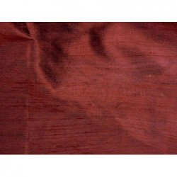 Sanguine Brown D337 Silk Dupioni Fabric