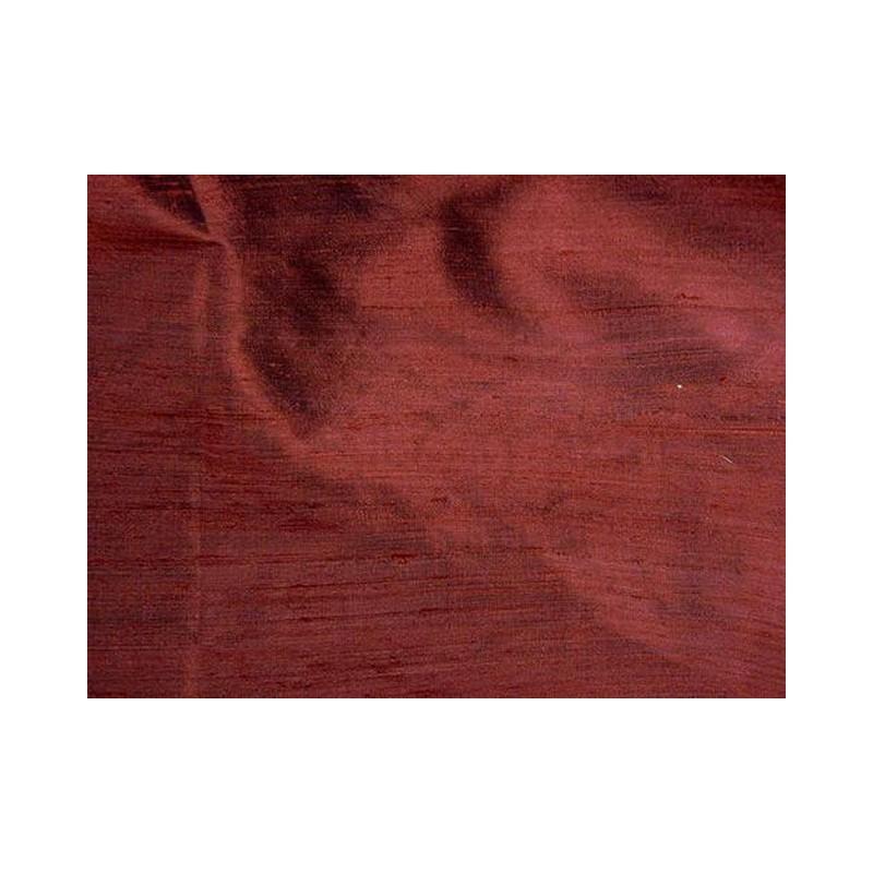 Sanguine Brown D337 Silk Dupioni Fabric