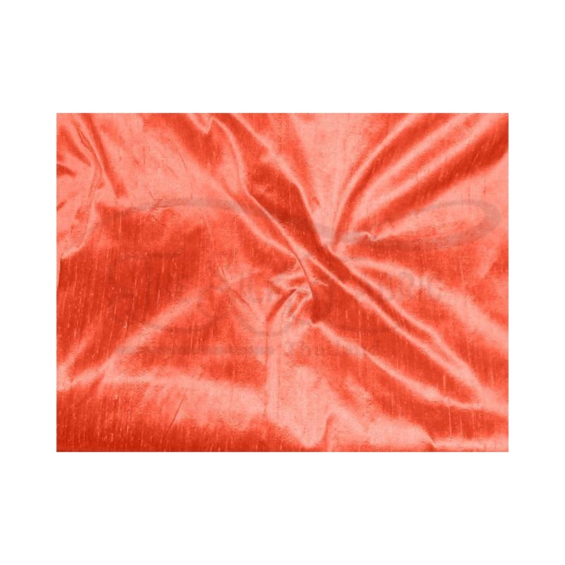 Tomato D339 Silk Dupioni Fabric