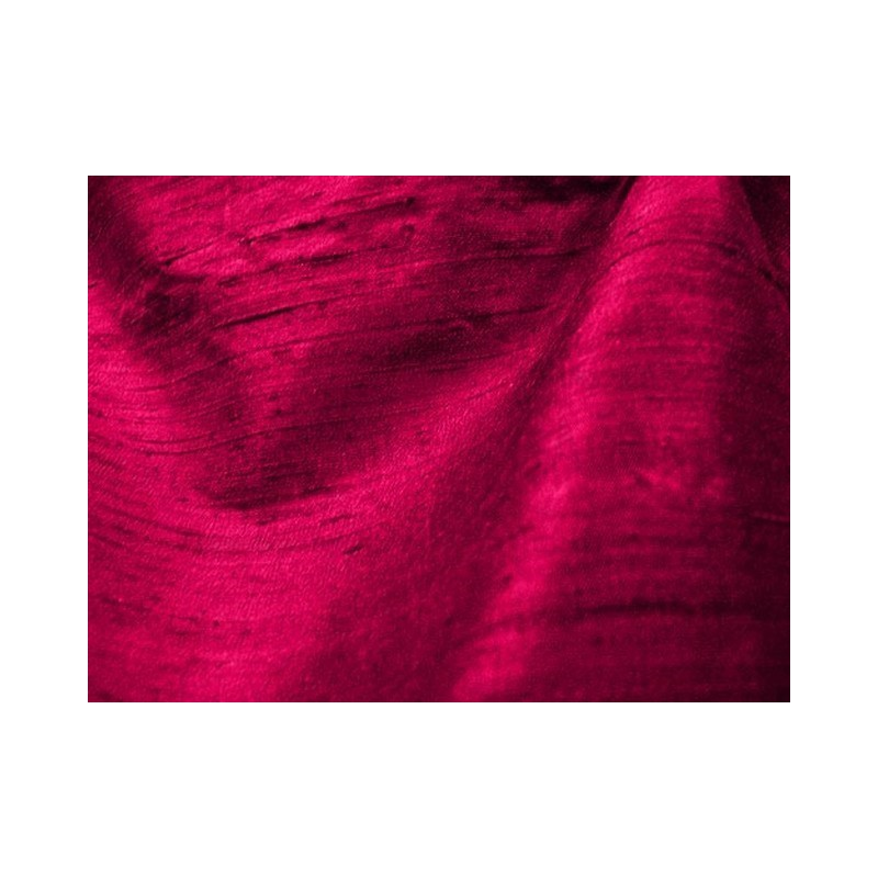 Raspberry D397 Silk Dupioni Fabric