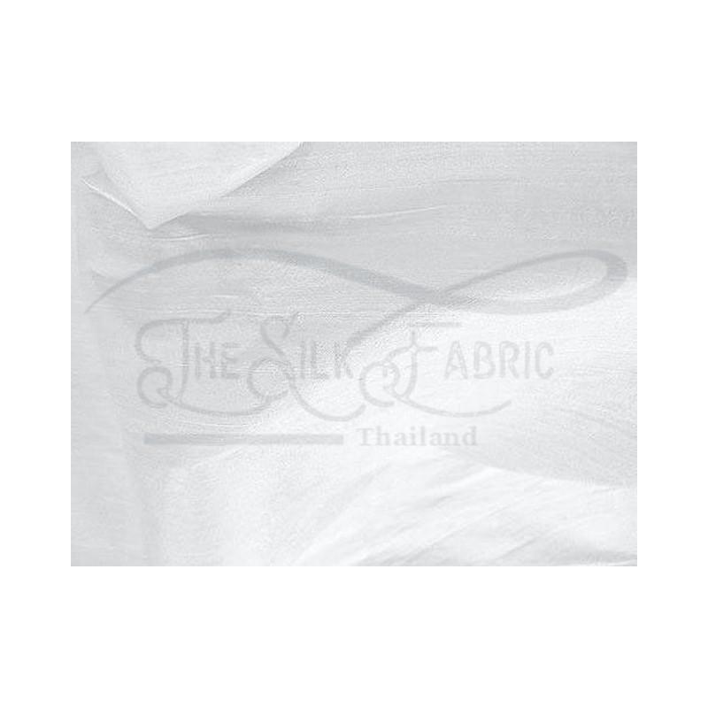 Anti-flash white off D433 Silk Dupioni Fabric