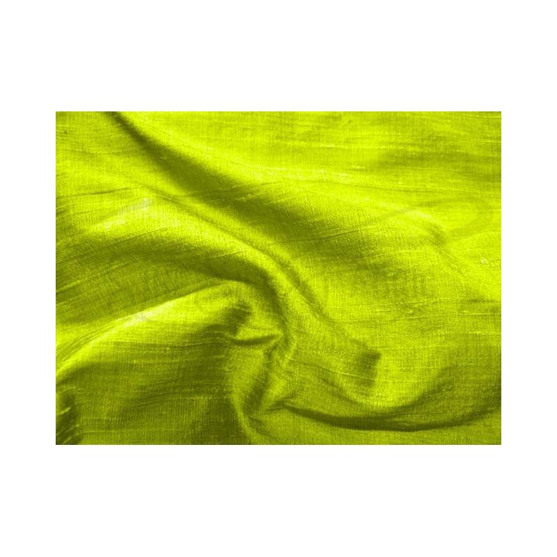 Lemon lime D456 Silk Dupioni Fabric
