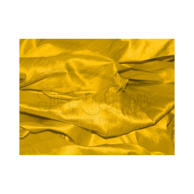 Mikado yellow D458 Silk Dupioni Fabric