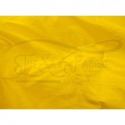 School bus yellow D459 Silk Dupioni Fabric