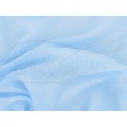 Blizzard blue C001 Silk Chiffon Fabric