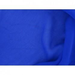 Cerulean blue C002  Silk Chiffon Fabric