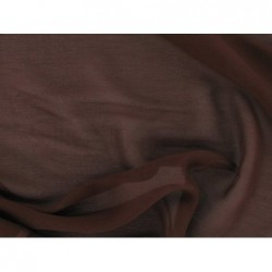 Walnut C015  Silk Chiffon Fabric