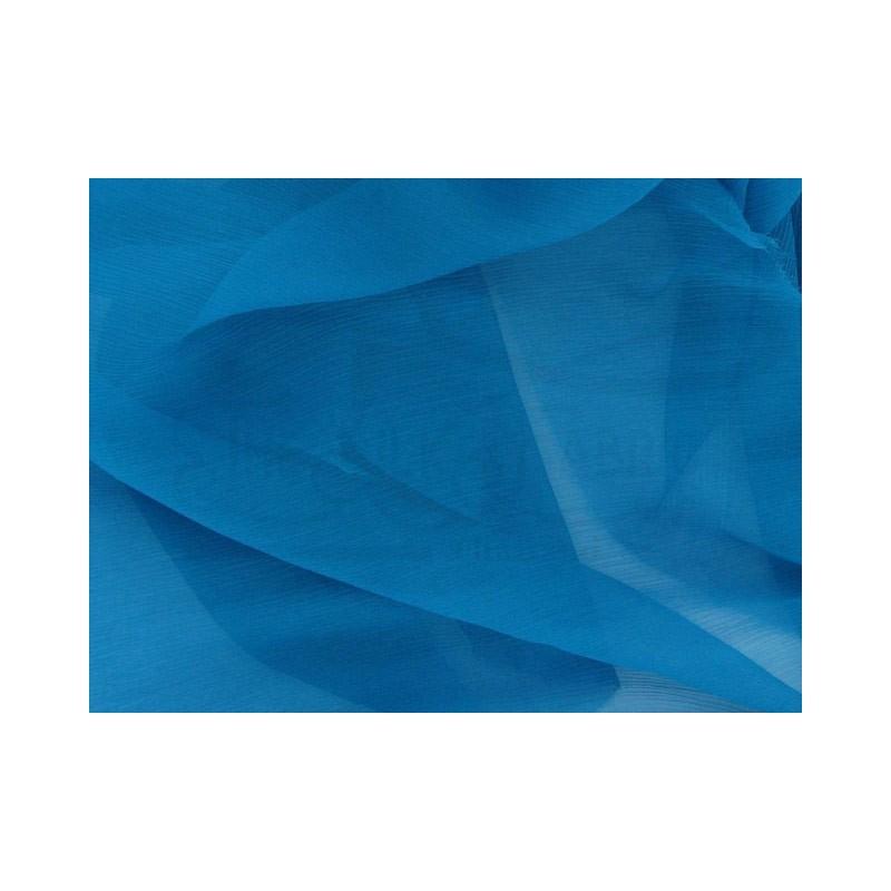 Cobalt C025  Silk Chiffon Fabric