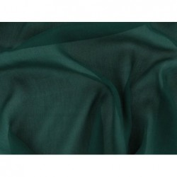 Dark green C049  Silk Chiffon Fabric