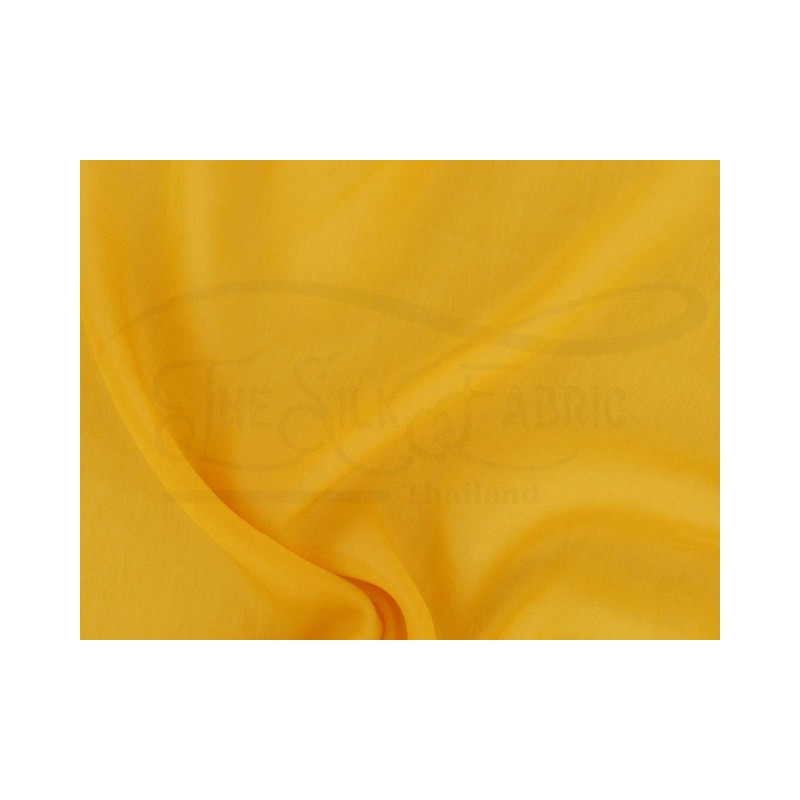 Golden grass C065  Silk Chiffon Fabric