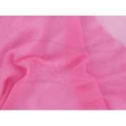 Deep blush C078  Silk Chiffon Fabric