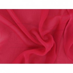 Cardinal C090  Silk Chiffon Fabric