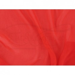 Cinnabar C091  Silk Chiffon Fabric