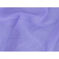Cold purple C103  Silk Chiffon Fabric