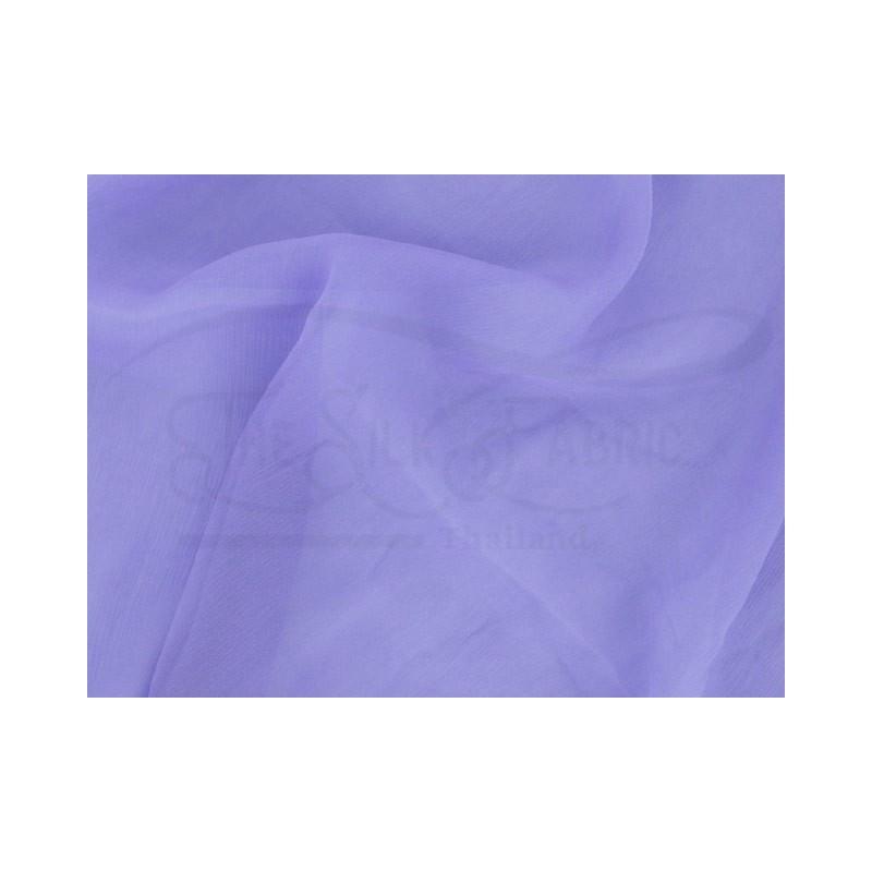 Cold purple C103  Silk Chiffon Fabric