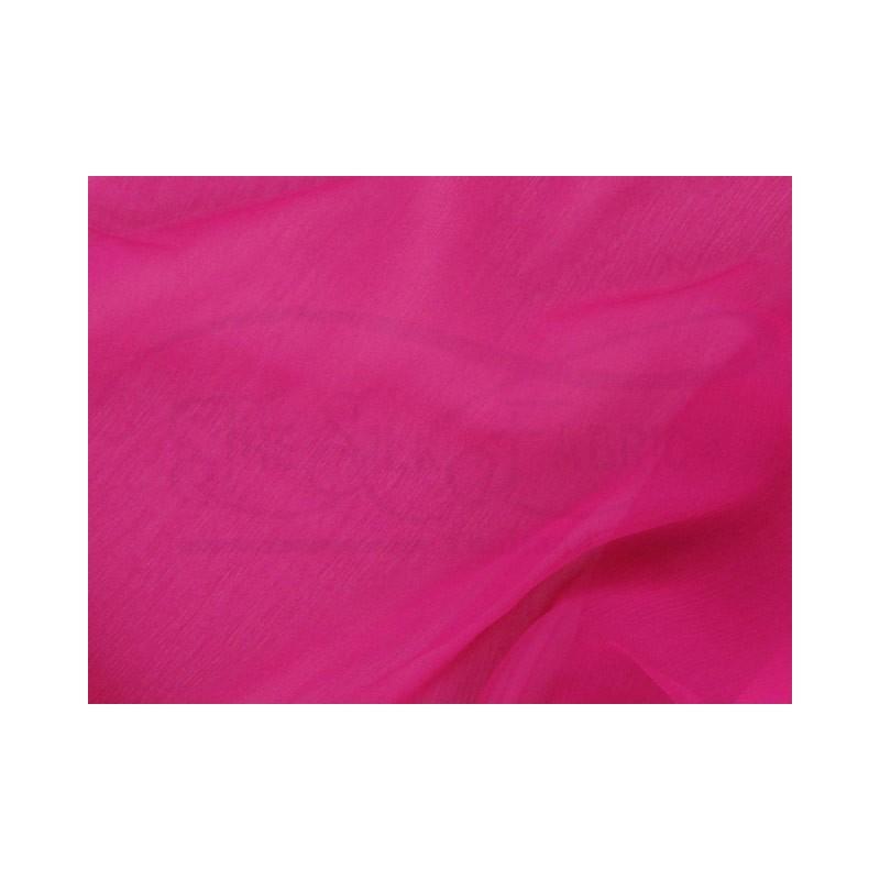Medium red violet C104  Silk Chiffon Fabric