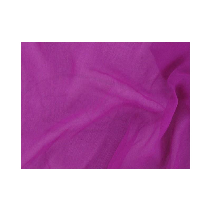 Plum C105  Silk Chiffon Fabric