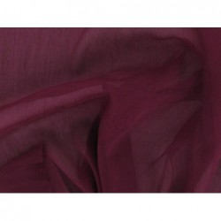 Wine berry C108  Silk Chiffon Fabric