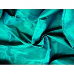 Bright Turquoise T013 Silk Taffeta Fabric