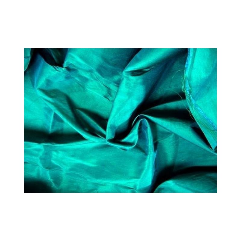 Bright Turquoise T013 Silk Taffeta Fabric