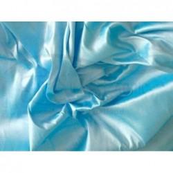 Cadet Blue T014 Silk Taffeta Fabric