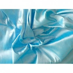 Cadet Blue T014 Silk Taffeta Fabric
