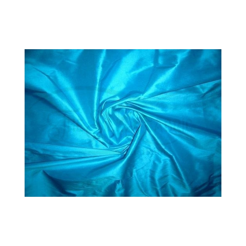 Cerulean T016 Silk Taffeta Fabric