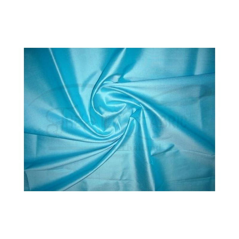Curious Blue T019 Silk Taffeta Fabric