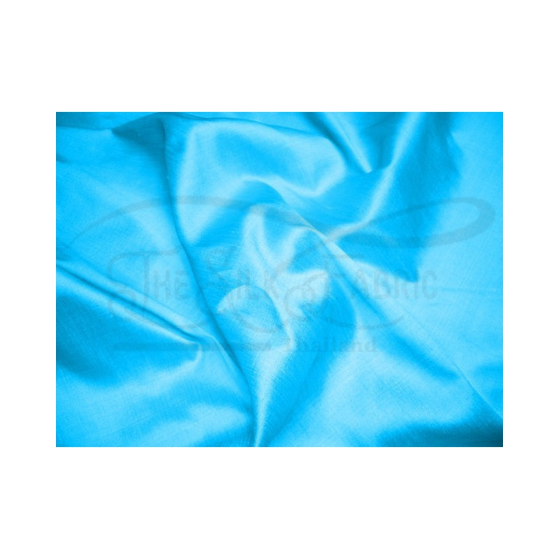 Deep sky blue T020 Silk Taffeta Fabric