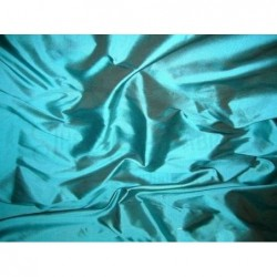 Eastern Blue T023 Silk Taffeta Fabric